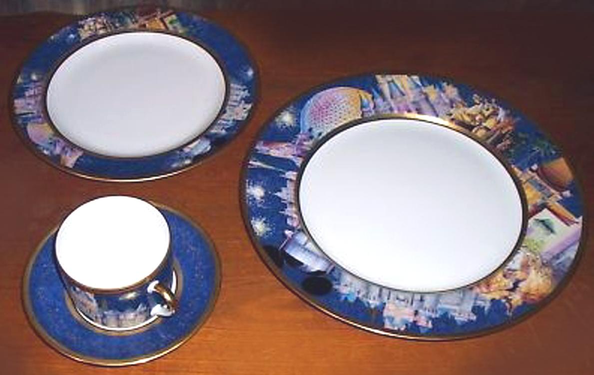 DisneyLimoges.jpg (446237 bytes). Limoges Bernadaud Dinnerware & Disney by Randy souders