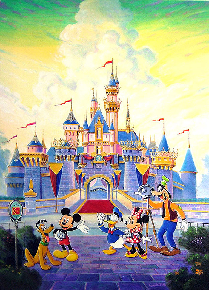 1000+ images about Disney (TM) paintings by Randy Souders ...